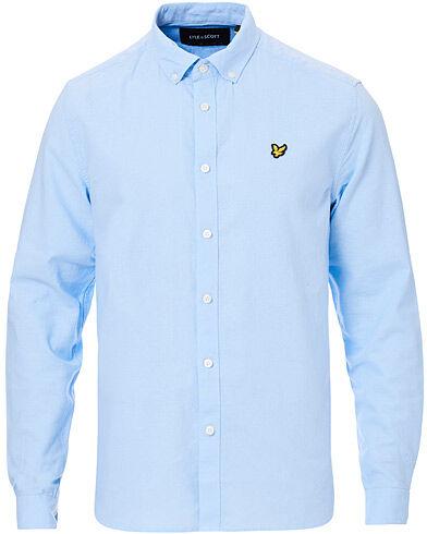 Lyle & Scott Linen/Cotton Shirt Pool Blue