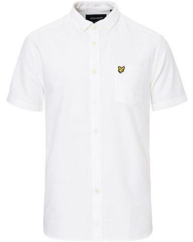 Lyle & Scott Oxford Short Sleeve Shirt White