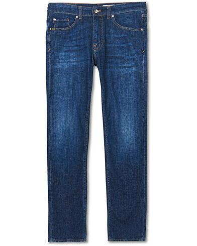 Tiger of Sweden Jeans Rex Stretch Organic Cotton Brush Jeans Blue