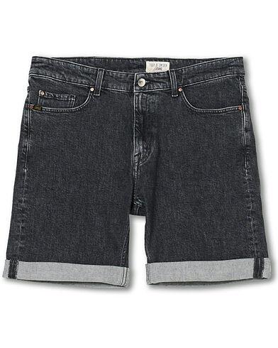 Tiger of Sweden Jeans Ash Stretch Tudor Shorts Washed Black