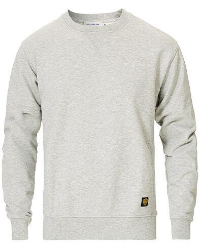 Tiger of Sweden Jeans Deniz Organic Cotton Crew Neck Sweatshirt Grey M