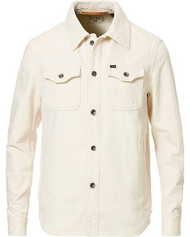 Tiger of Sweden Jeans Get Organic Cotton Denim Jacket Off White