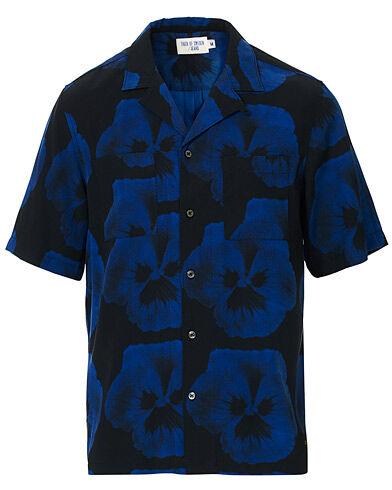 Tiger of Sweden Jeans Calumm Resort Short Sleeve Shirt Blue