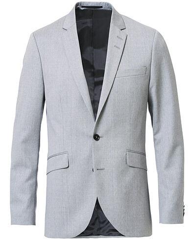 Tiger of Sweden James Wool Suit Blazer Grey