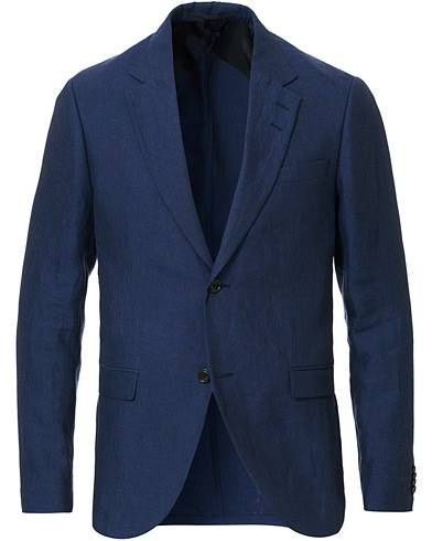 Tiger of Sweden Jamonte Linen Suit Blazer Midnight Blue