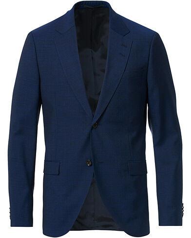 Tiger of Sweden Jamonte Wool Suit Blazer Deep Ocean Blue