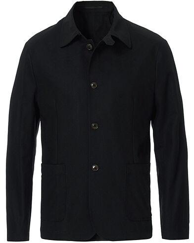 Tiger of Sweden Johnnie Shirt Jacket Black