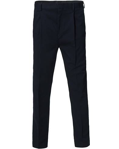 Tiger of Sweden Thomas Pleated Trousers Midnight Blue
