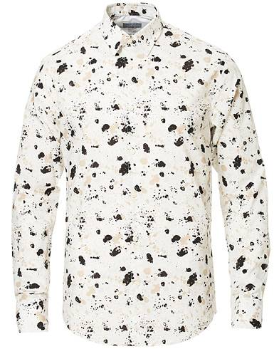Tiger of Sweden Farrell 4 Slim Fit Printed Shirt White
