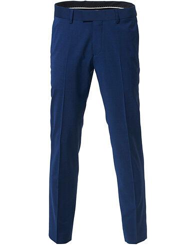 Tiger of Sweden Tordon Suit Trousers Royal Blue