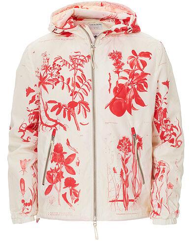 Tiger of Sweden Nemorosi Printed Hooded Jacket White