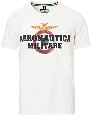 Aeronautica TS1617 Crew Neck Tee White