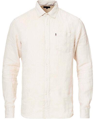 Lexington Ryan Linen Shirt Light Beige
