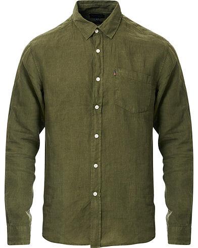 Lexington Ryan Linen Shirt Green
