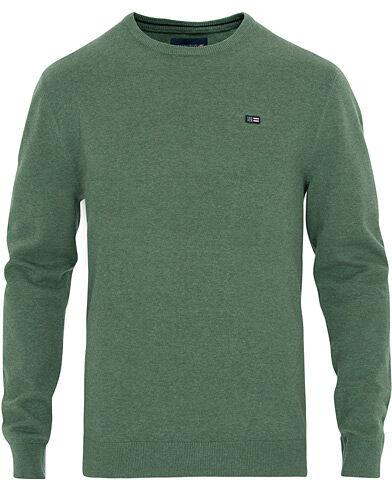 Lexington Bradley Crew Neck Sweater Green Melange