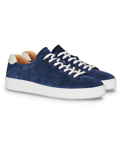 Tiger of Sweden Salas Sneaker Blue Suede