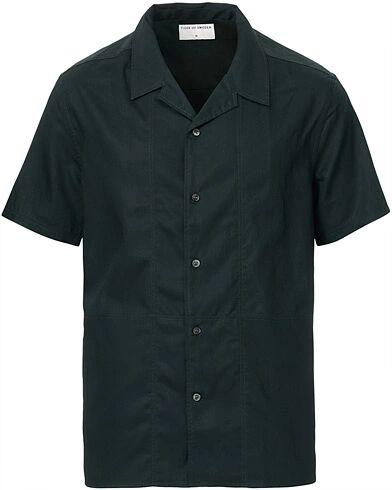Tiger of Sweden Riccerde Short Sleeve Camp Collar Shirt Pine Green