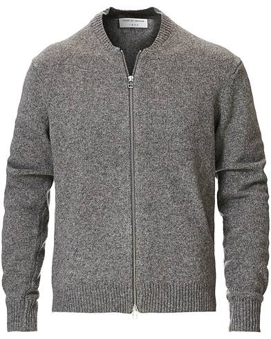 Tiger of Sweden Morchella Wool Full Zip Grey