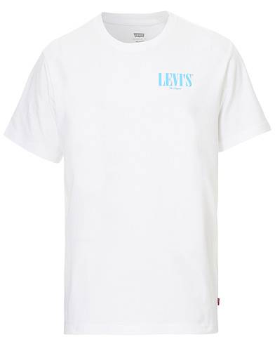 Levis Relaxed Fit Crew Neck Tee White