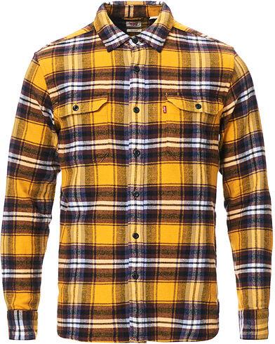 Levis Jackoson Worker Shirt Golden Yellow