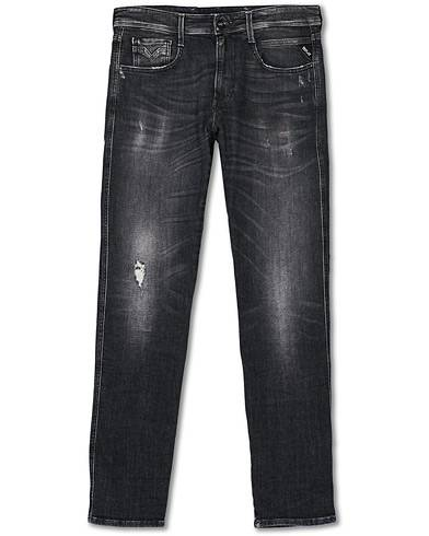 Replay Anbass 5 Years Wash Jeans Washed Black