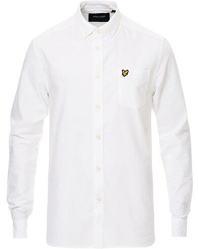 Lyle & Scott Lightweight Oxford Shirt White