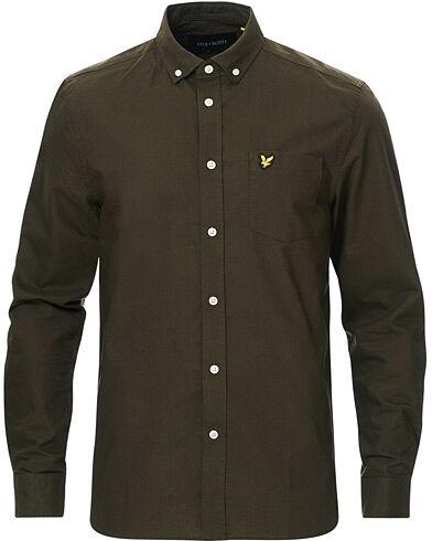 Lyle & Scott Lightweight Oxford Shirt Trek Green