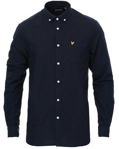 Lyle & Scott Lightweight Oxford Shirt Dark Navy