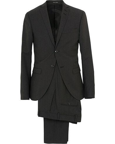 Tiger of Sweden Jil Wool Suit Dark Grey