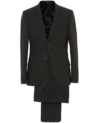 Filippa K Rick Cool Wool Suit Black