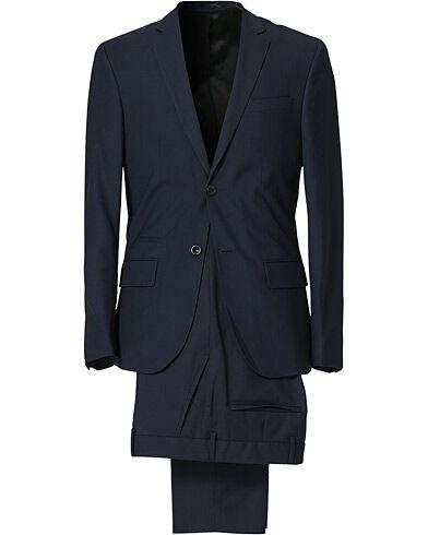 Filippa K Rick Cool Wool Suit Hope Blue