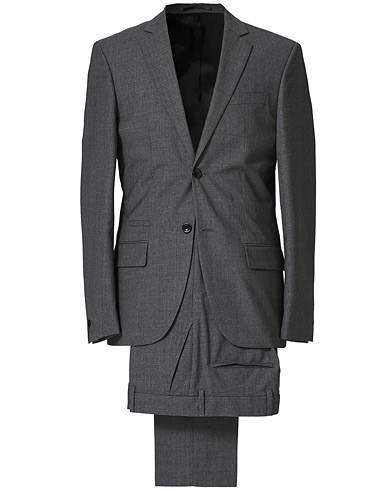 Filippa K Rick Cool Wool Suit Grey Melange