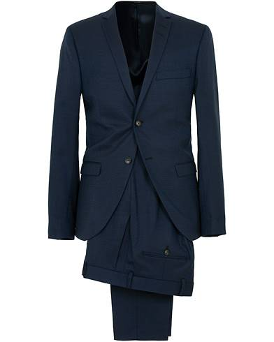 Tiger of Sweden Jil Wool Stretch Suit Country Blue