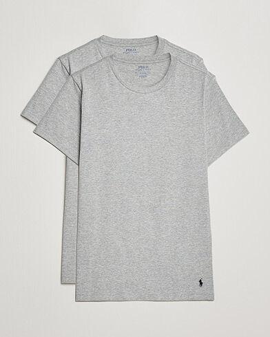 Ralph Lauren 2-Pack Cotton Stretch Andover Heather Grey