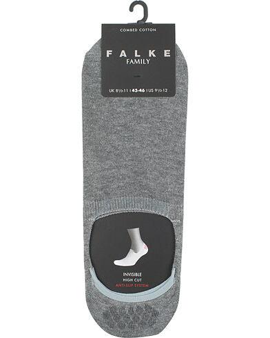 Falke Casual High Cut Sneaker Sock Light Grey Melange