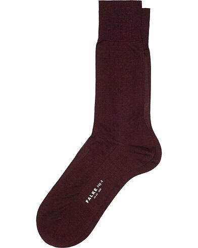 Falke No. 4 Pure Silk Socks Barolo
