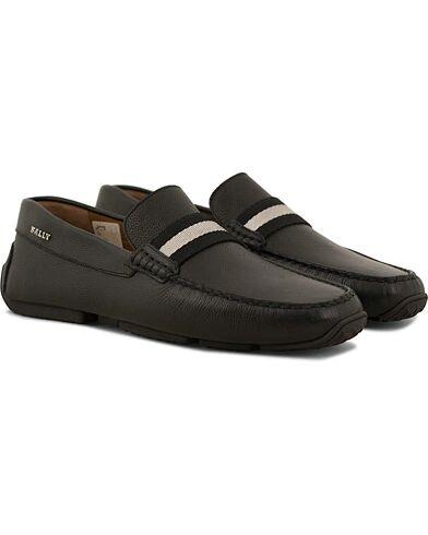 Bally Pearce Car Shoe Black Calf