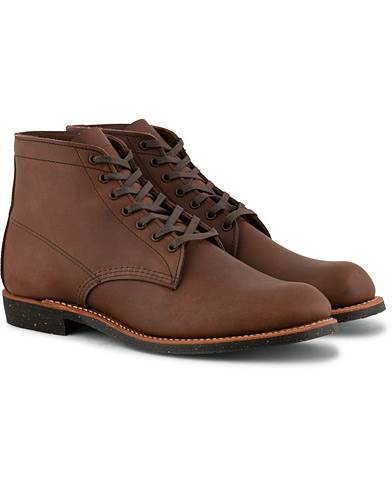 Red Wing Shoes Merchant Laced Boot Amber Harness Leather