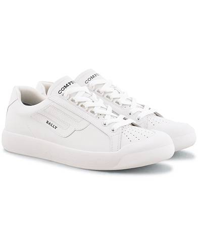 Bally New Competition Sneaker White Calf