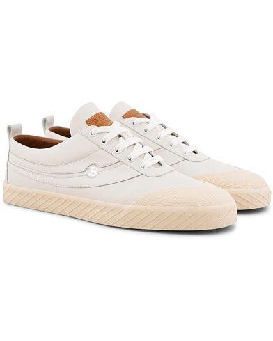 Bally Smake Sneaker White Calf