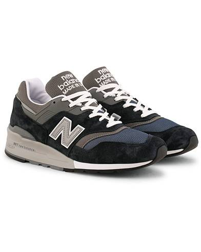 New Balance Made in USA 997 Running Sneaker Navy