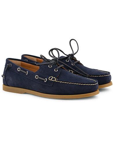 Ralph Lauren Merton Suede Deckshoes Newport Navy