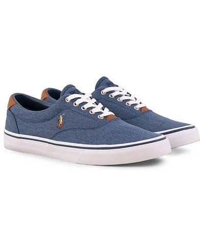 Ralph Lauren Thorton Canvas Sneaker Newport Navy