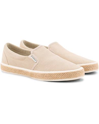 Gant Fresno Perforated Slip On Dry Sand Suede