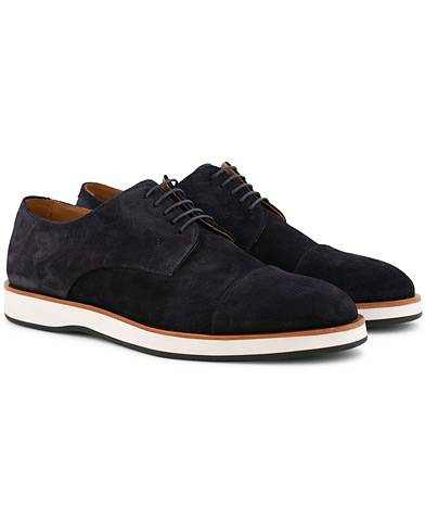 BOSS Oracle Derby Suede Navy