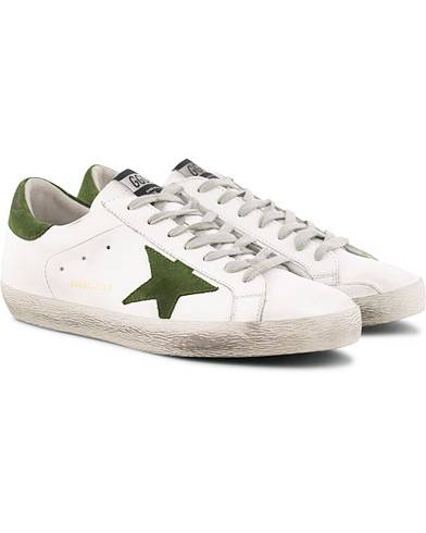 Golden Goose Deluxe Brand Ice Suede Superstar Sneaker White Calf