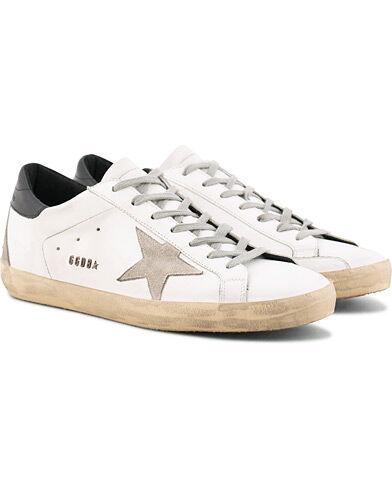 Golden Goose Deluxe Brand Cream Metal Lettering Superstar Sneaker Whit