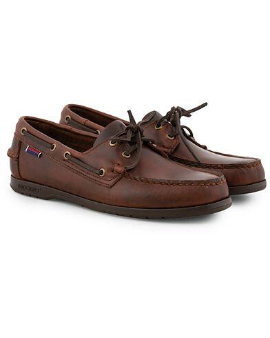 Sebago Endeavor Boat Shoe Brown