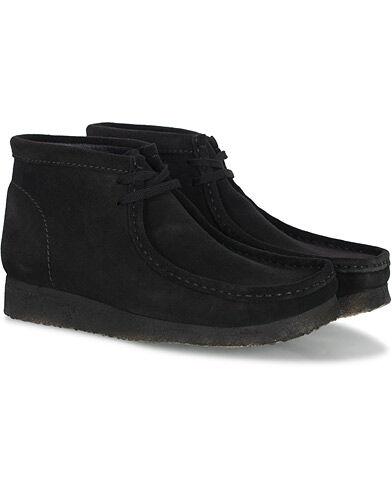 Clarks Originals Wallabee Boot Black Suede