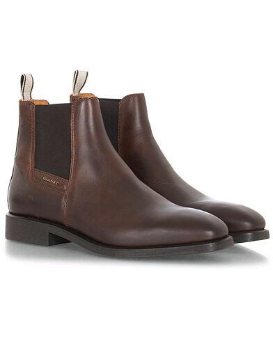 Gant James Chelsea Boot Sienna Brown Calf